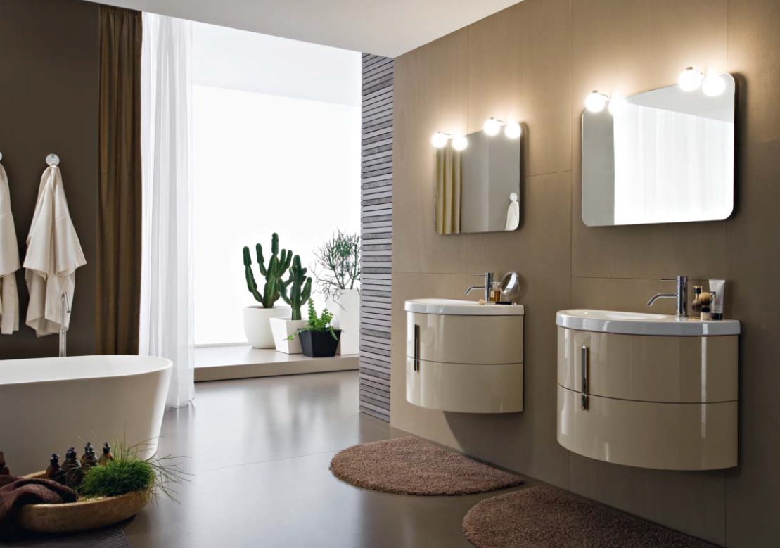 Amazing Corner Bathroom Vanity Cabinets With Regard To