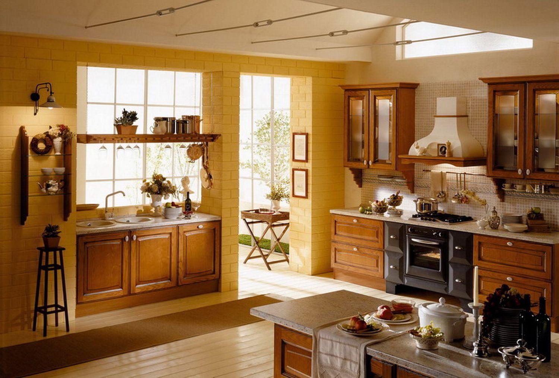 Фото красивых дизайнов интерьера кухонь 2014 года